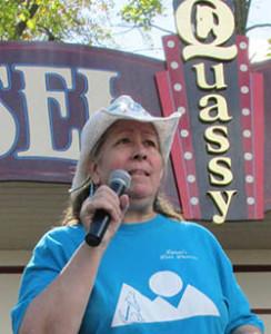 Lynne FLanders - NEWDA President - Quassy