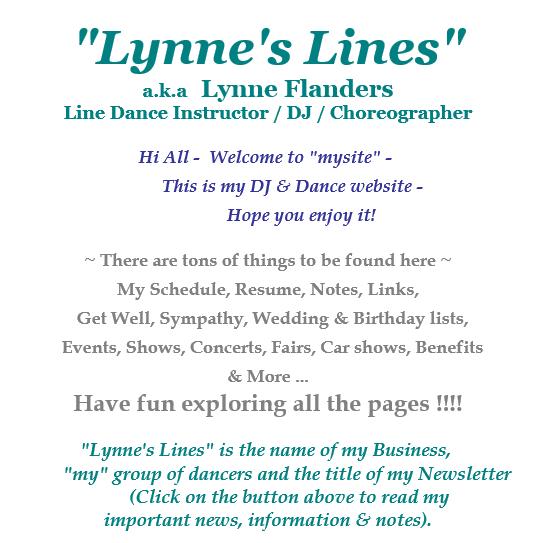 Lynne's Lines