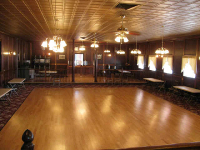 The Victorian Room at Thomaston Lanes