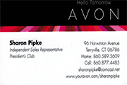 avon-sharon-pipke-bus-card
