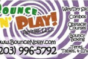 BounceN' Play  2016  Business Card 180x100