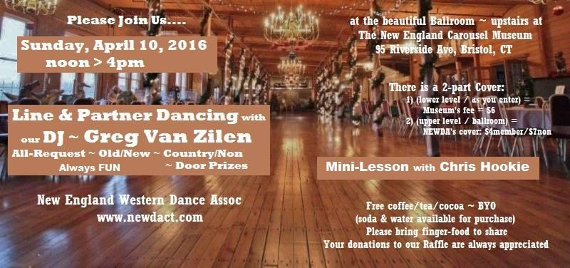 April 10  dance
