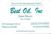 Best Oil Waterbury, CT